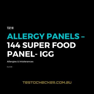 Allergy Panels – 144 Super Food Panel - IgG