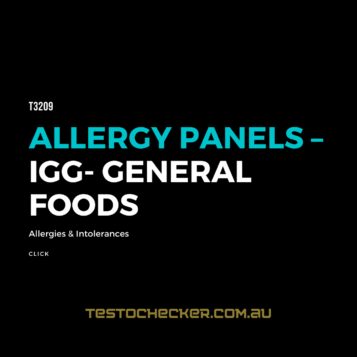 Allergy Panels – IgA - General Foods