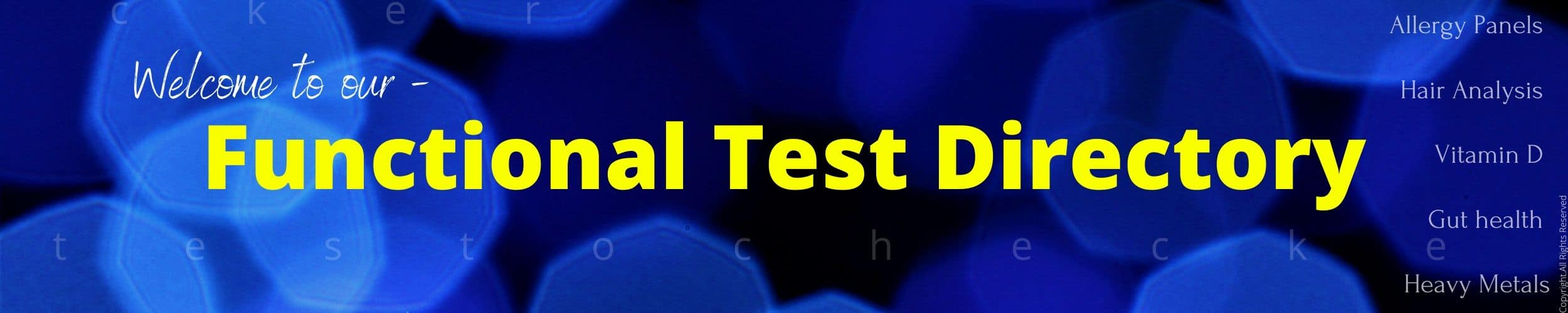 testochecker functional test directory banner