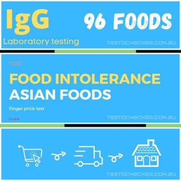 Food intolerance test Asian Foods.testochecker.australia